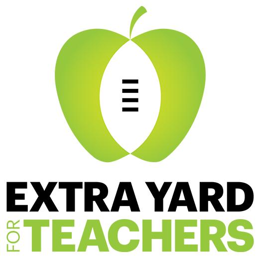 Extra Yard For Teachers Logo
